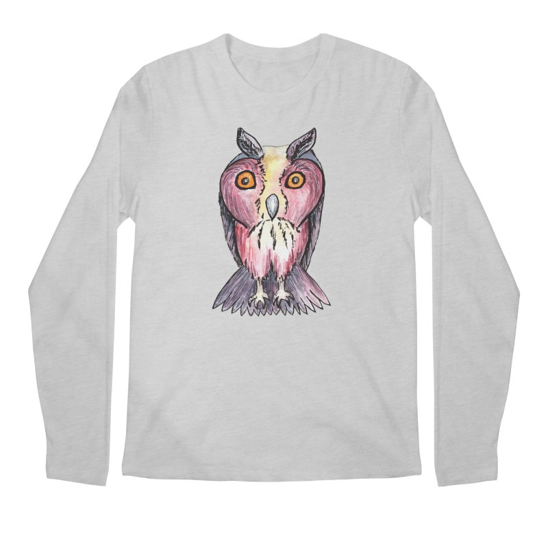 Tribe Owls Men's Longsleeve T-Shirt by IF Creation's Artist Shop