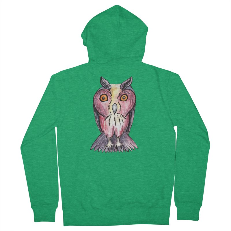 Tribe Owls Women's Zip-Up Hoody by IF Creation's Artist Shop