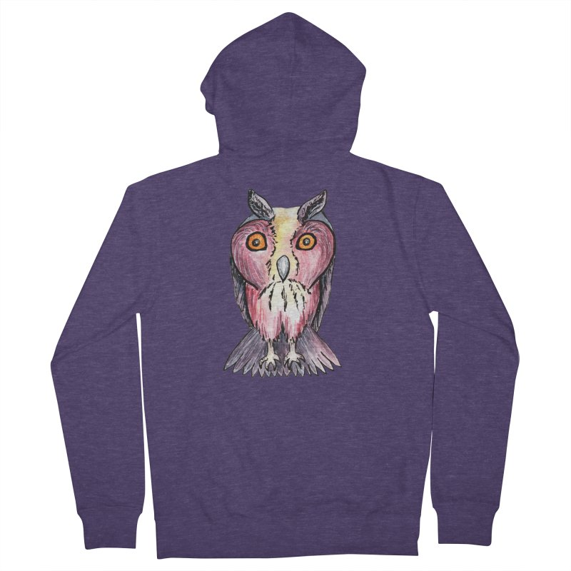 Tribe Owls Men's Zip-Up Hoody by IF Creation's Artist Shop