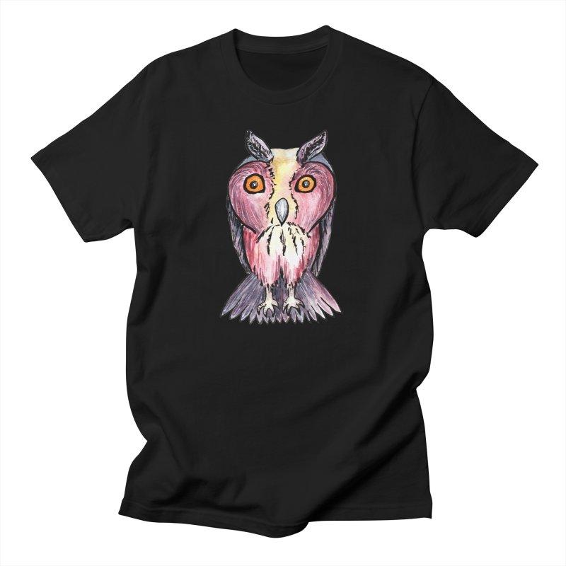 Tribe Owls Men's Regular T-Shirt by IF Creation's Artist Shop
