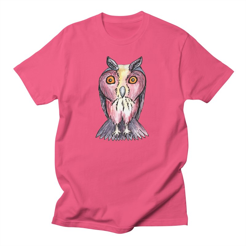 Tribe Owls Men's T-Shirt by IF Creation's Artist Shop