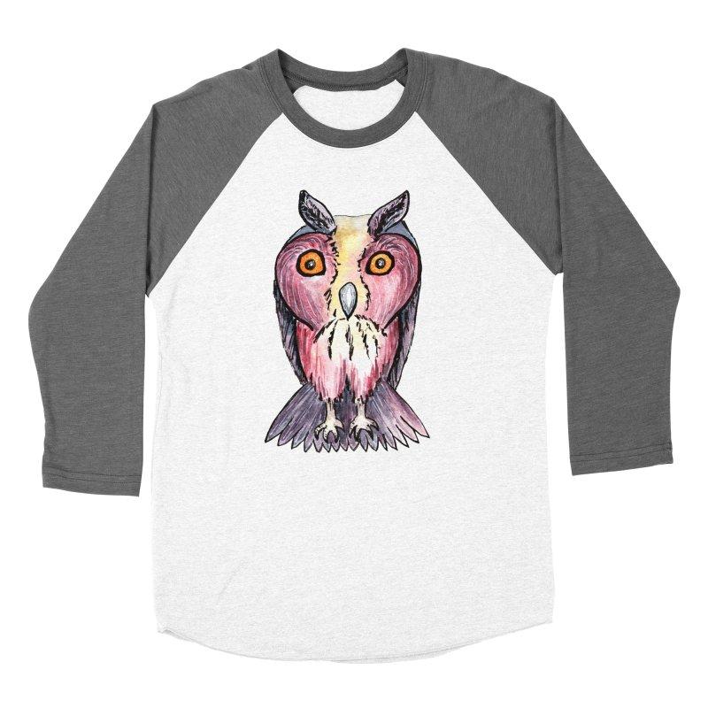 Tribe Owls Women's Baseball Triblend T-Shirt by IF Creation's Artist Shop