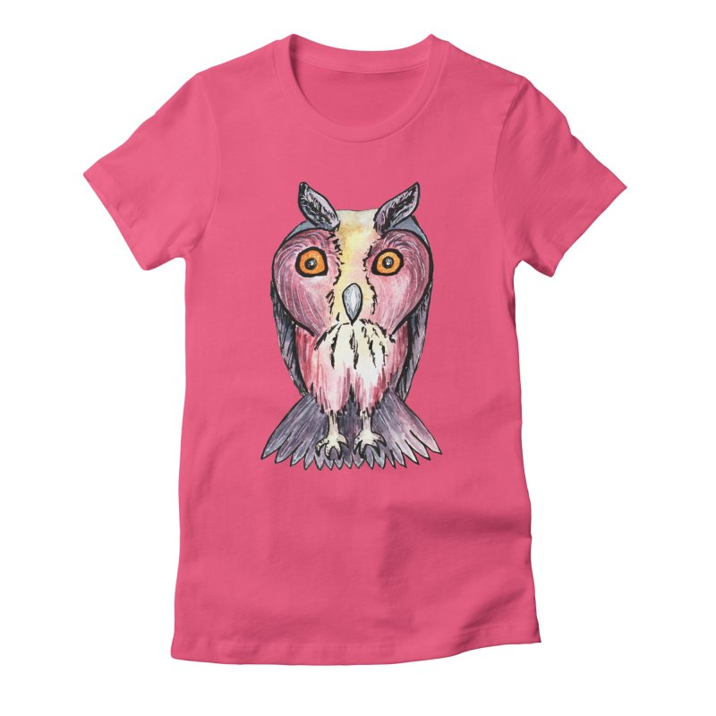 Tribe Owls Women's T-Shirt by IF Creation's Artist Shop