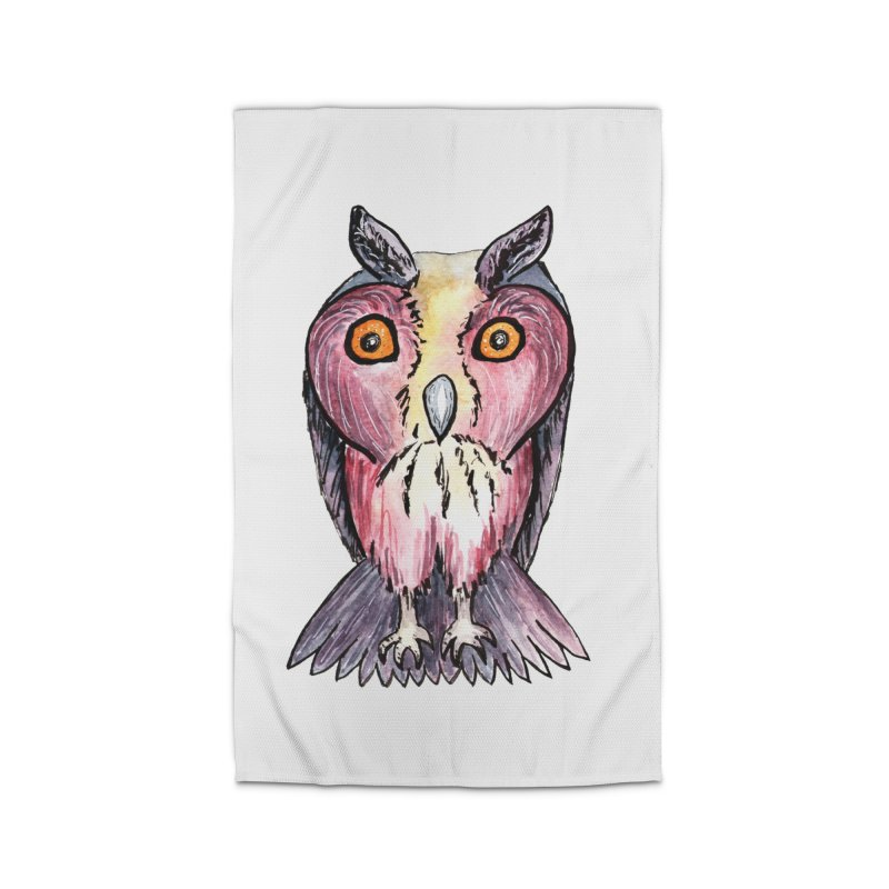Tribe Owls Home Rug by IF Creation's Artist Shop