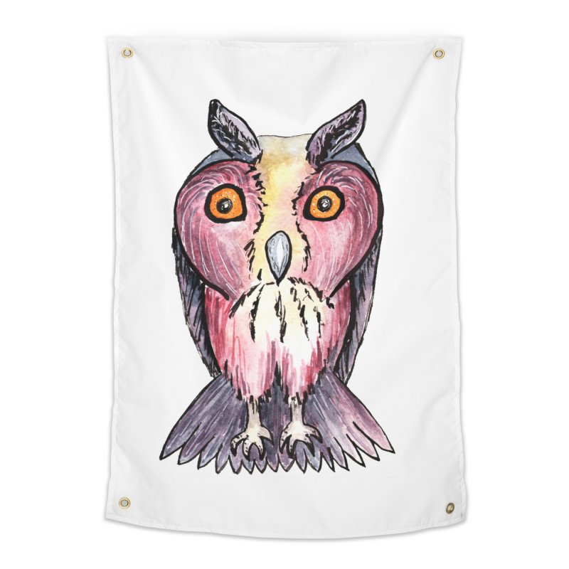Tribe Owls Home Tapestry by IF Creation's Artist Shop