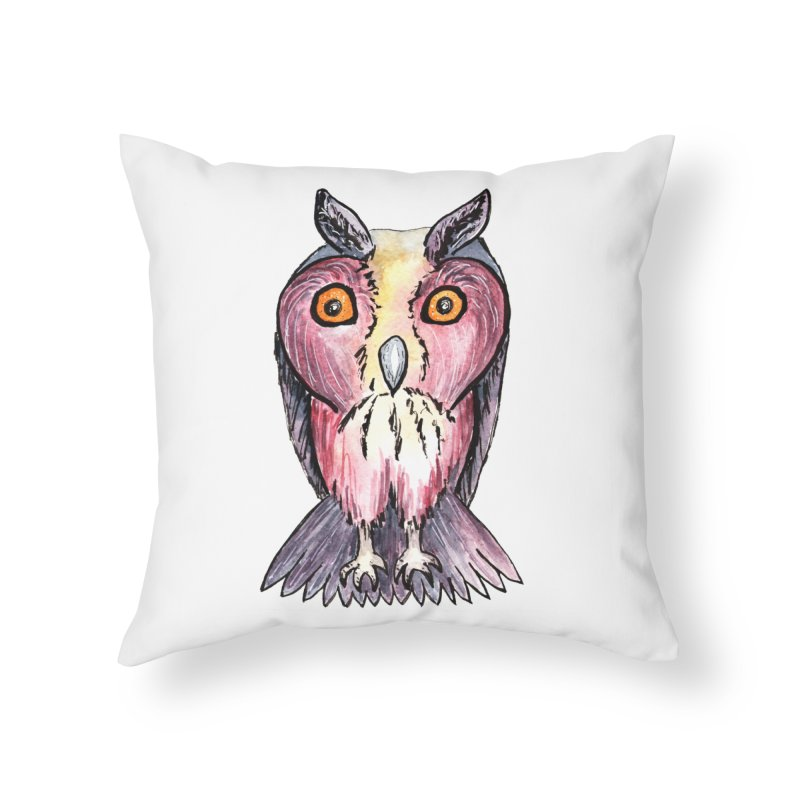 Tribe Owls Home Throw Pillow by IF Creation's Artist Shop