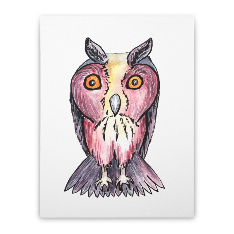 Tribe Owls Home Stretched Canvas by IF Creation's Artist Shop