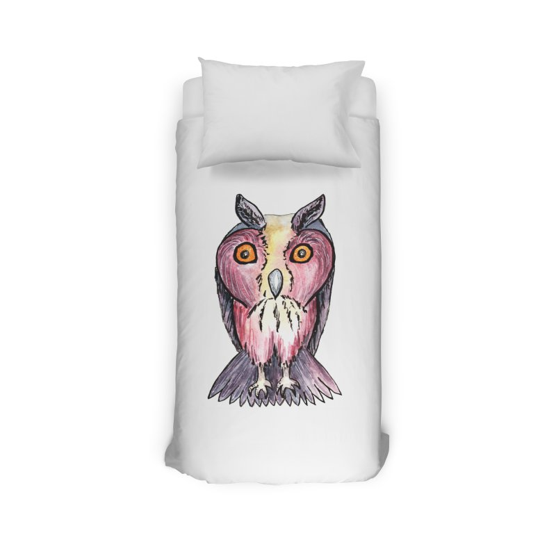 Tribe Owls Home Duvet by IF Creation's Artist Shop