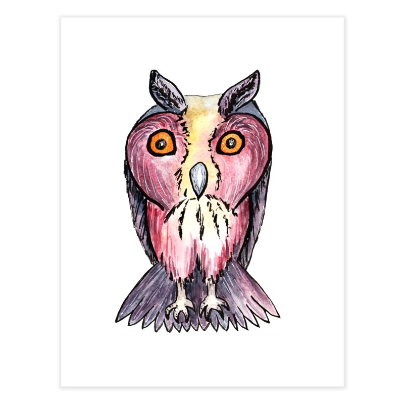 Tribe Owls Home Fine Art Print by IF Creation's Artist Shop