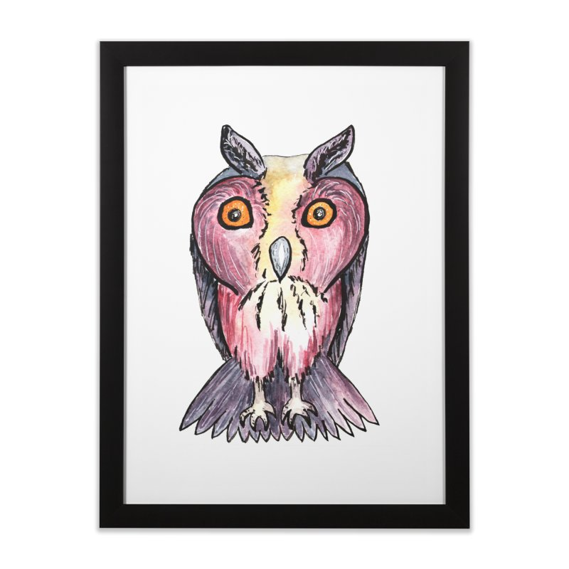 Tribe Owls Home Framed Fine Art Print by IF Creation's Artist Shop