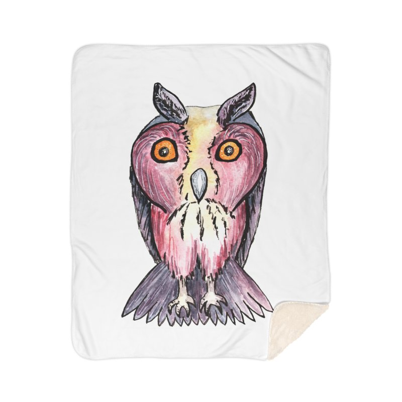 Tribe Owls Home Blanket by IF Creation's Artist Shop