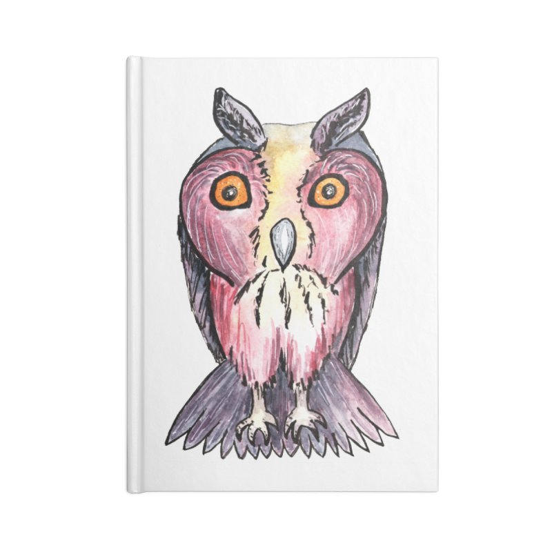 Tribe Owls Accessories Blank Journal Notebook by IF Creation's Artist Shop