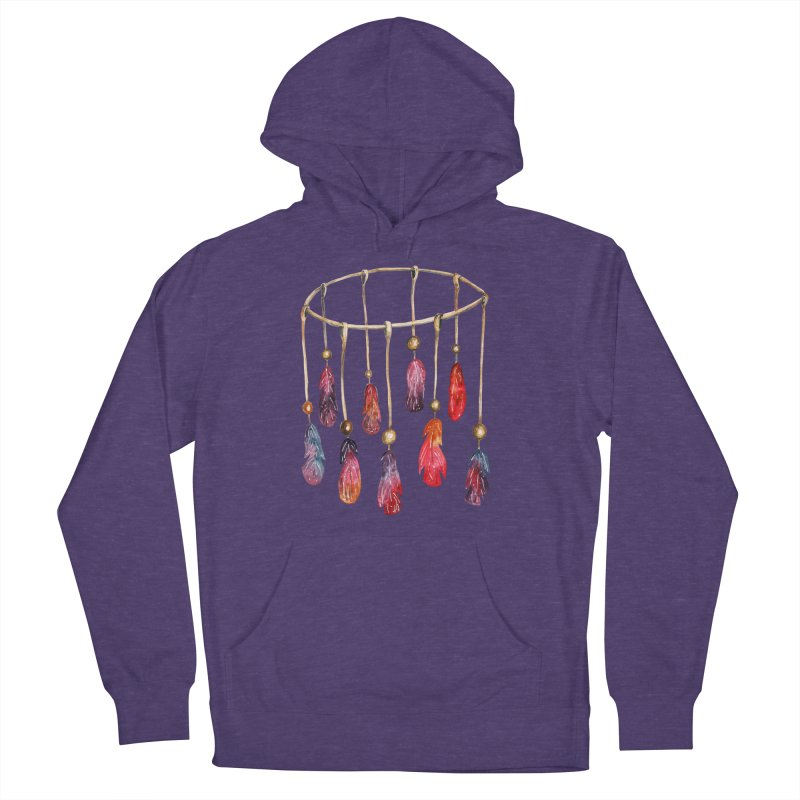 DreamCatcher Feathers Men's Pullover Hoody by IF Creation's Artist Shop