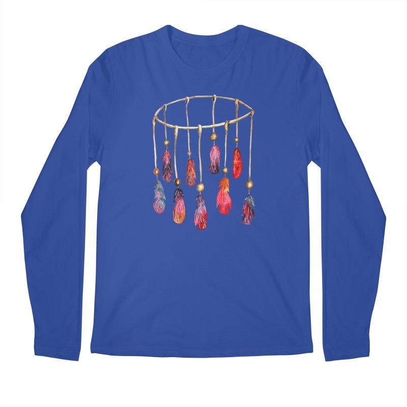DreamCatcher Feathers Men's Longsleeve T-Shirt by IF Creation's Artist Shop