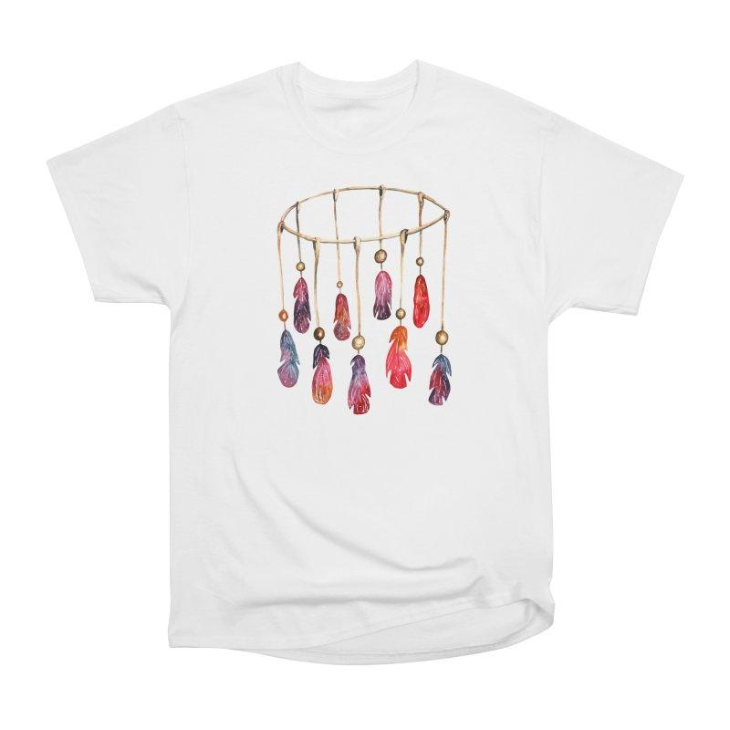 DreamCatcher Feathers Women's T-Shirt by IF Creation's Artist Shop