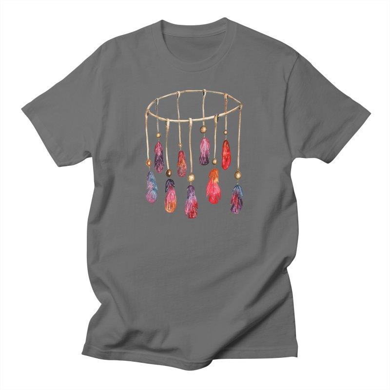DreamCatcher Feathers Men's T-Shirt by IF Creation's Artist Shop