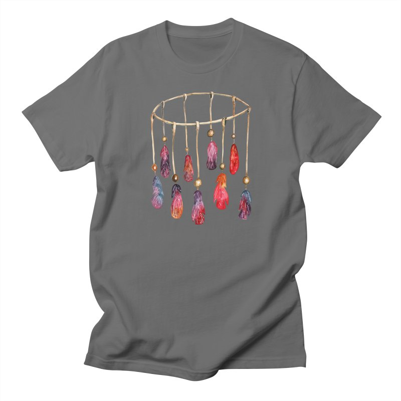 DreamCatcher Feathers Men's T-Shirt by IF Creation's Artist Shop