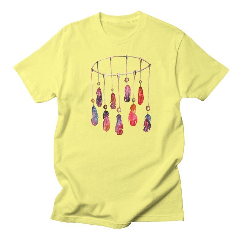 DreamCatcher Feathers Men's Regular T-Shirt by IF Creation's Artist Shop