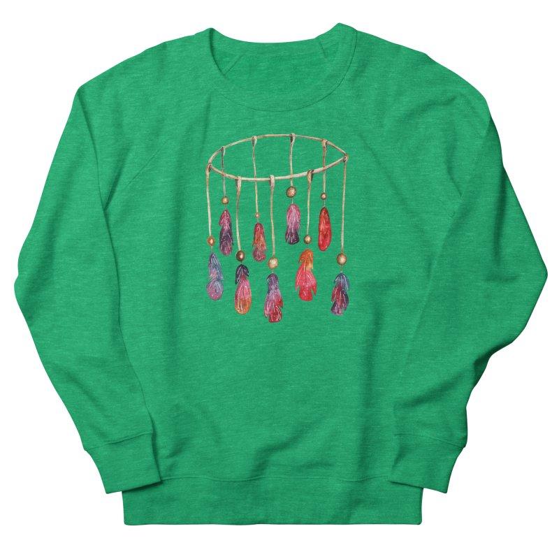 DreamCatcher Feathers Women's Sweatshirt by IF Creation's Artist Shop