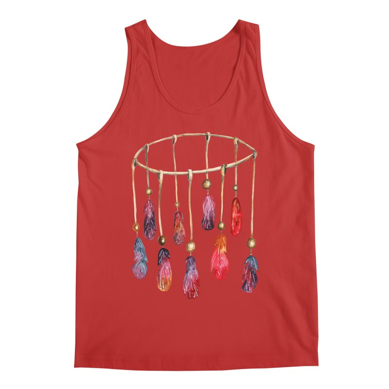 DreamCatcher Feathers Men's Tank by IF Creation's Artist Shop