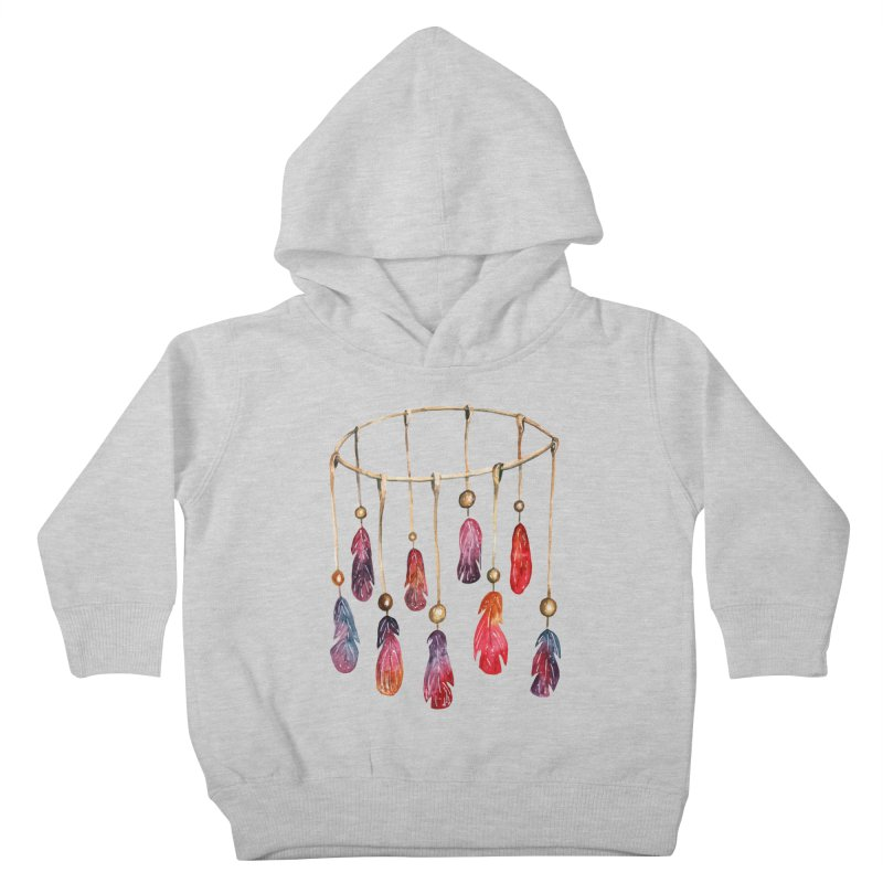 DreamCatcher Feathers Kids Toddler Pullover Hoody by IF Creation's Artist Shop