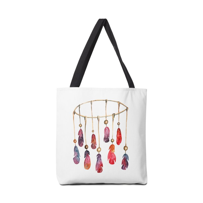 DreamCatcher Feathers Accessories Bag by IF Creation's Artist Shop