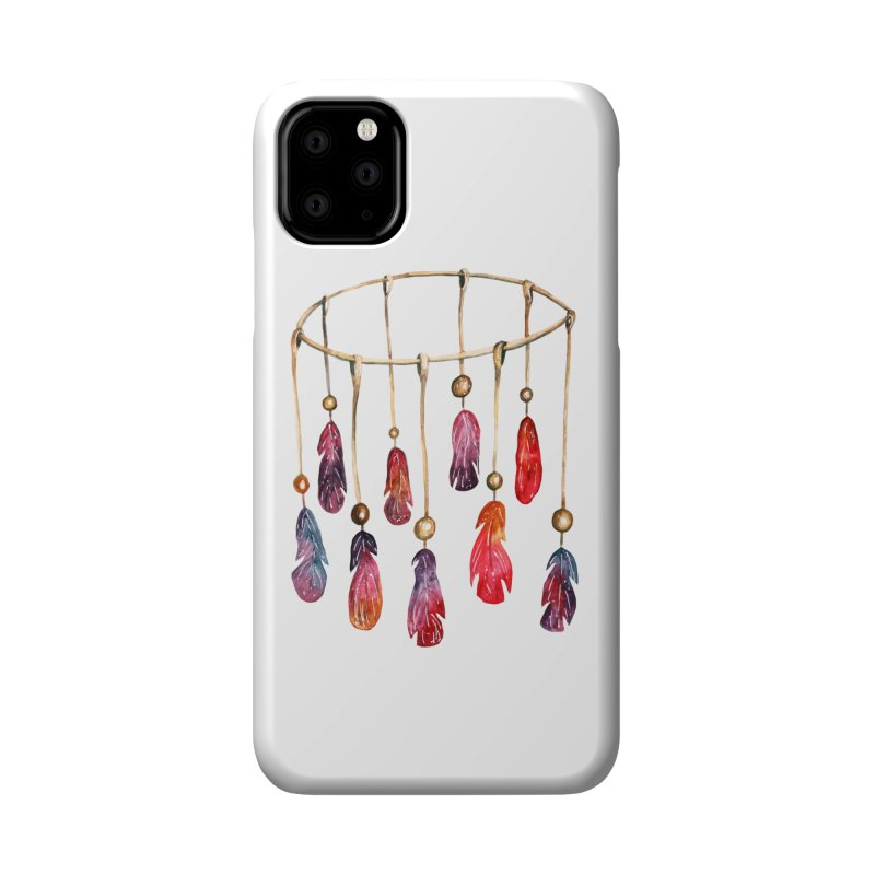 DreamCatcher Feathers Accessories Phone Case by IF Creation's Artist Shop