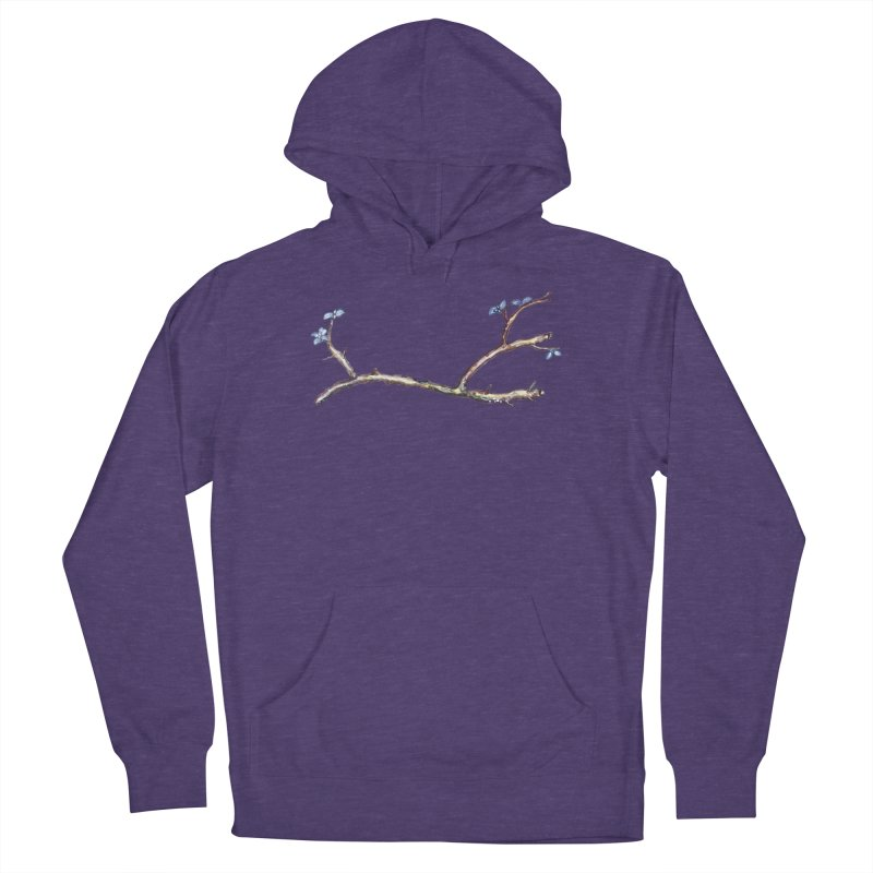 Branches Men's French Terry Pullover Hoody by IF Creation's Artist Shop
