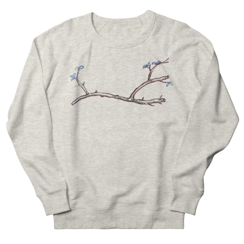 Branches Men's French Terry Sweatshirt by IF Creation's Artist Shop