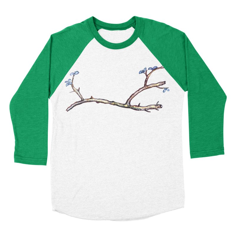 Branches Men's Baseball Triblend T-Shirt by IF Creation's Artist Shop