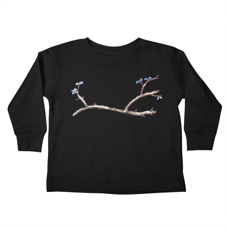 Branches Kids Toddler Longsleeve T-Shirt by IF Creation's Artist Shop