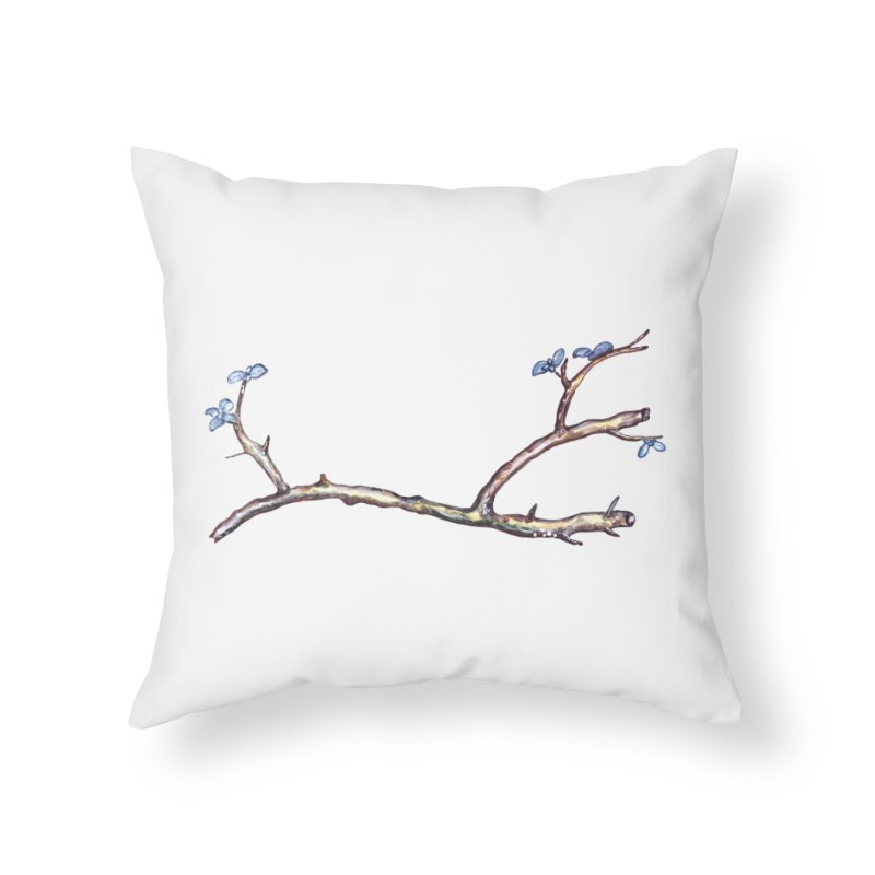 Branches Home Throw Pillow by IF Creation's Artist Shop