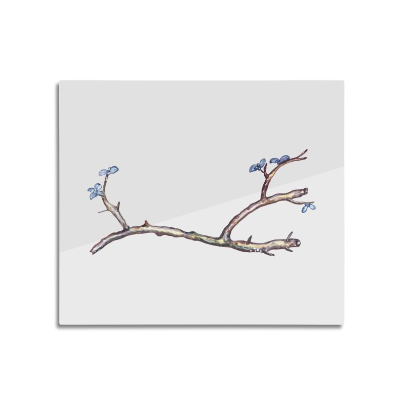 Branches Home Mounted Aluminum Print by IF Creation's Artist Shop
