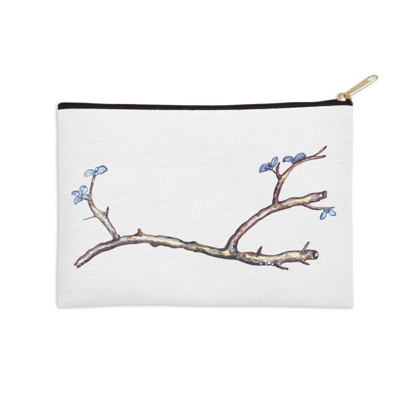 Branches Accessories Zip Pouch by IF Creation's Artist Shop