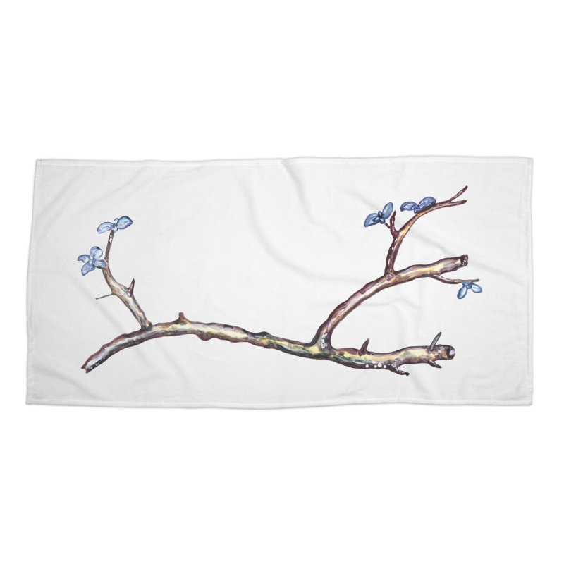 Branches Accessories Beach Towel by IF Creation's Artist Shop