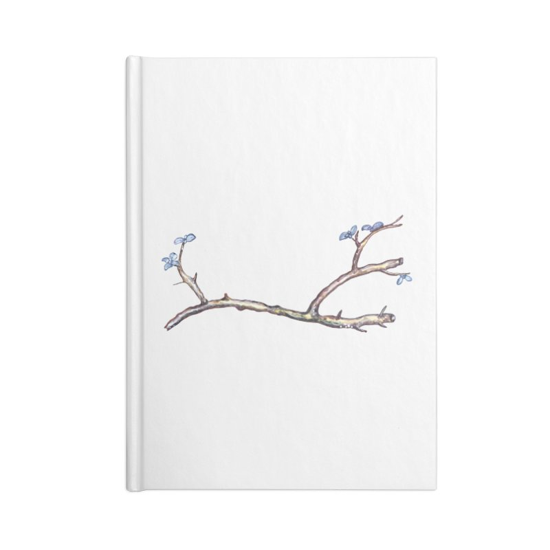 Branches Accessories Blank Journal Notebook by IF Creation's Artist Shop