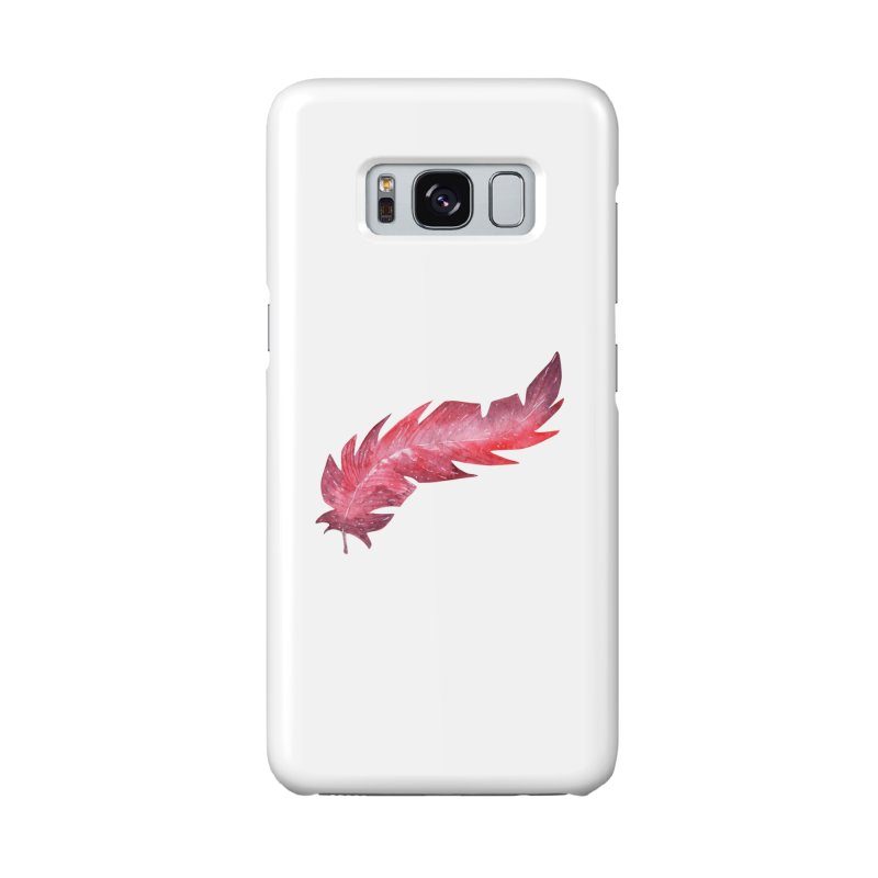 Pink Feather Accessories Phone Case by IF Creation's Artist Shop