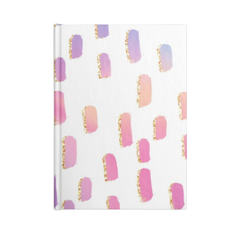Pastel Spots Accessories Blank Journal Notebook by IF Creation's Artist Shop