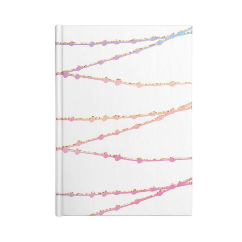 Pastel Accessories Blank Journal Notebook by IF Creation's Artist Shop