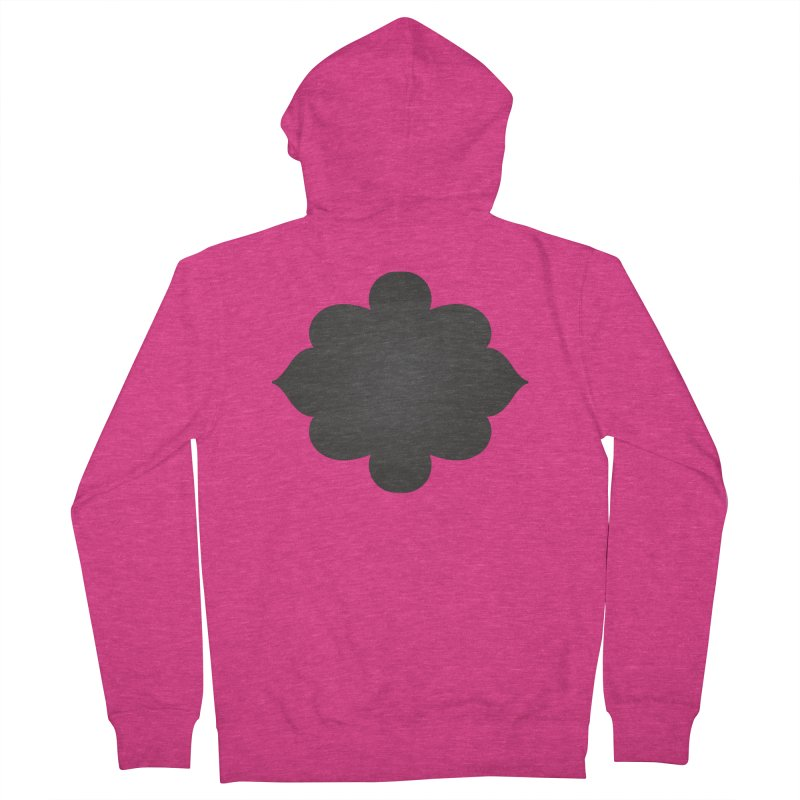 Black Shape Label Women's Zip-Up Hoody by IF Creation's Artist Shop