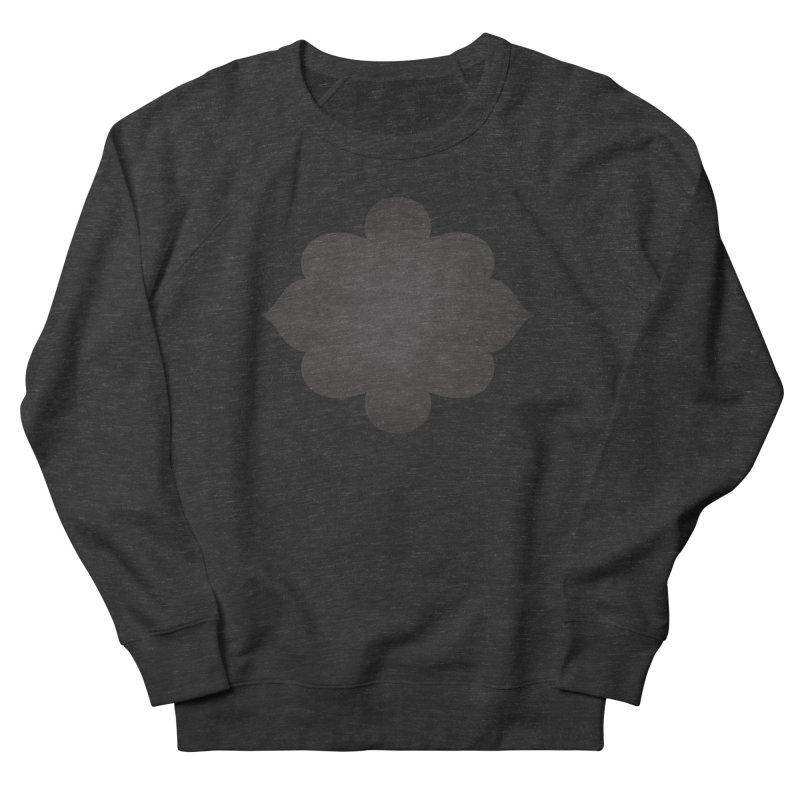 Black Shape Label Women's French Terry Sweatshirt by IF Creation's Artist Shop