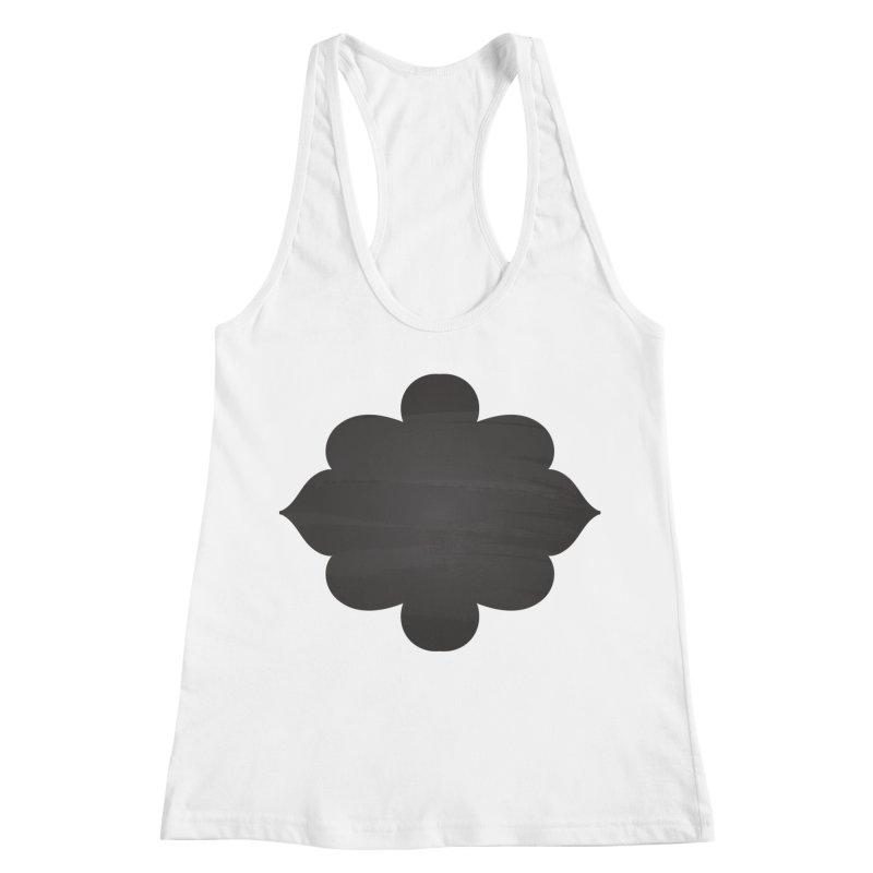 Black Shape Label Women's Tank by IF Creation's Artist Shop