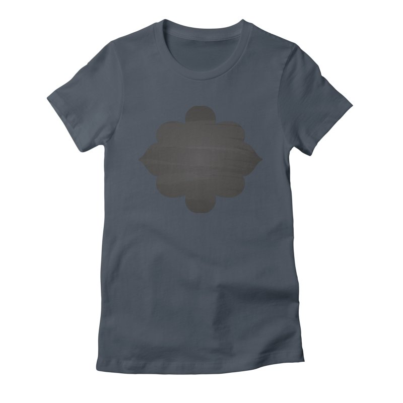 Black Shape Label Women's T-Shirt by IF Creation's Artist Shop