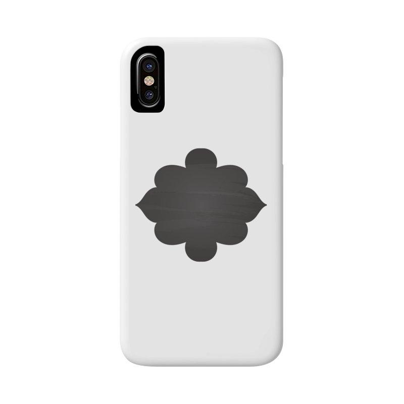 Black Shape Label Accessories Phone Case by IF Creation's Artist Shop