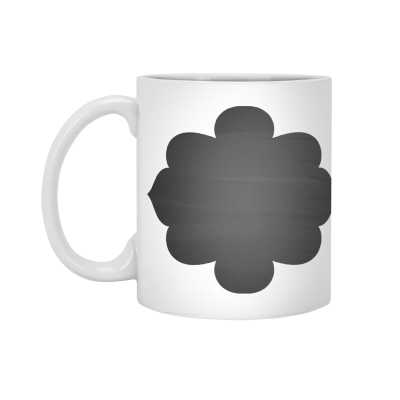 Black Shape Label Accessories Mug by IF Creation's Artist Shop