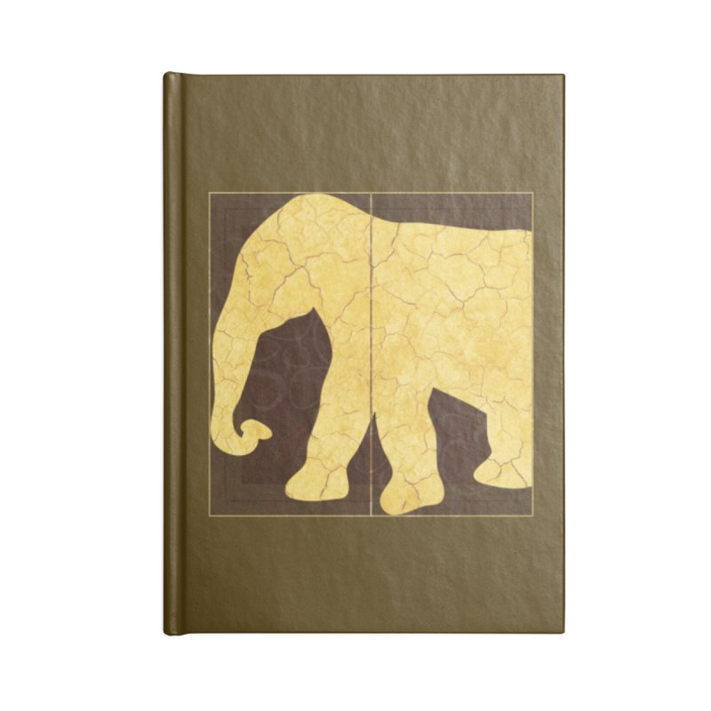 Elephant Accessories Blank Journal Notebook by IF Creation's Artist Shop