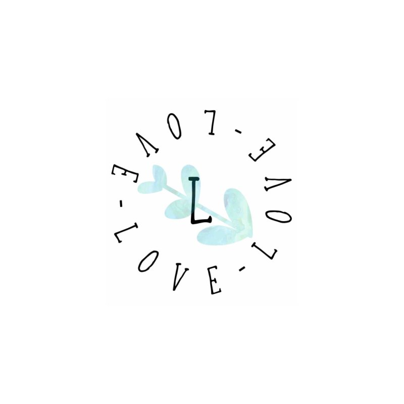 Love-Love-Love Home Fine Art Print by IF Creation's Artist Shop