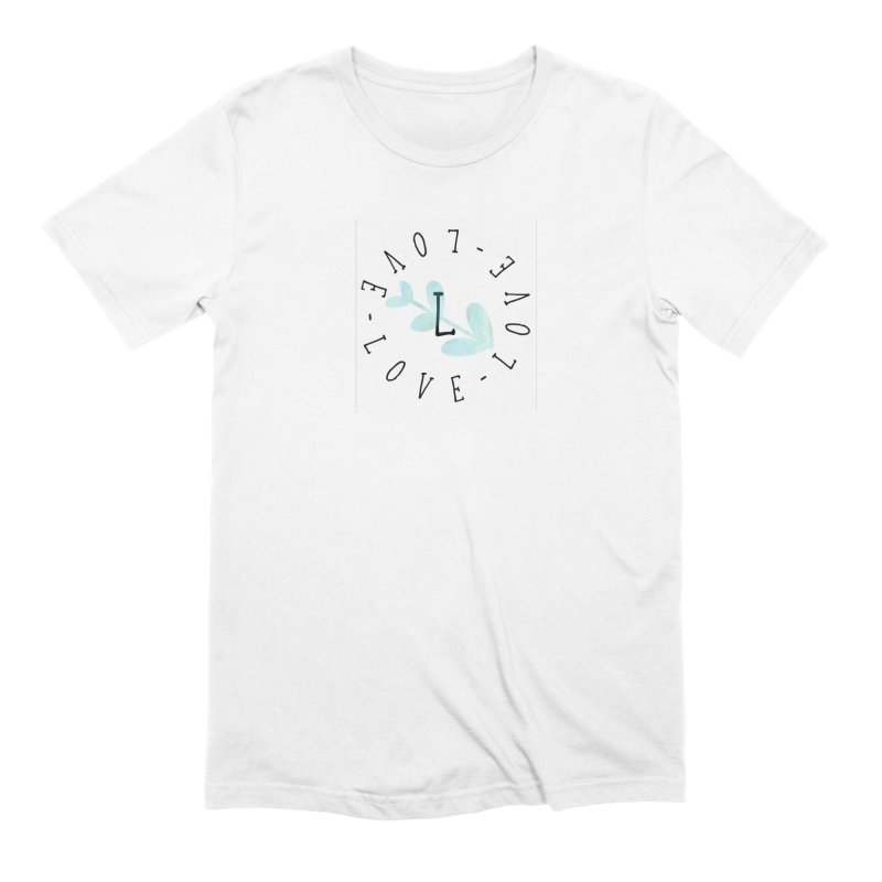 Love-Love-Love Men's T-Shirt by IF Creation's Artist Shop