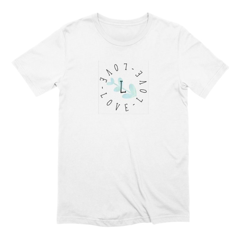 Love-Love-Love Men's Extra Soft T-Shirt by IF Creation's Artist Shop