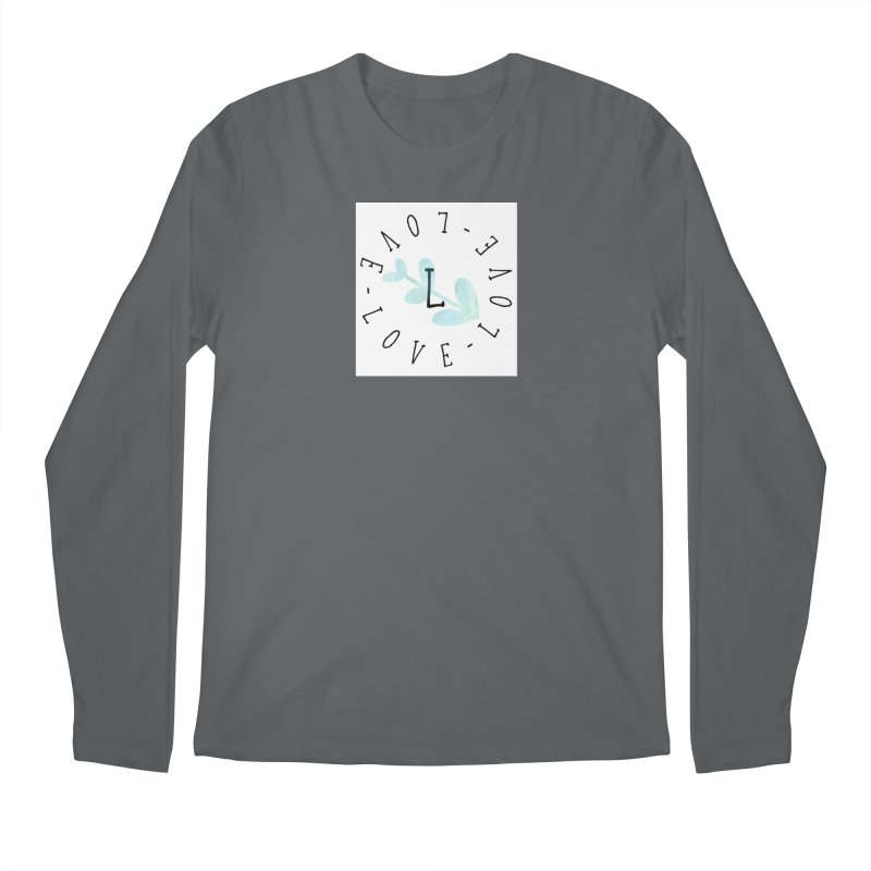 Love-Love-Love Men's Longsleeve T-Shirt by IF Creation's Artist Shop